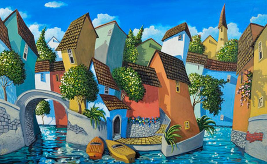 Im genes arte pinturas pinturas art sticas con paisajes - Donde estudiar pintura ...