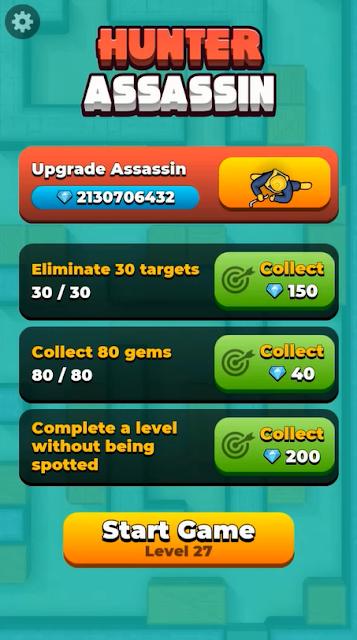 لعبة Hunter Assassin v1.29 (Mod) مهكرة