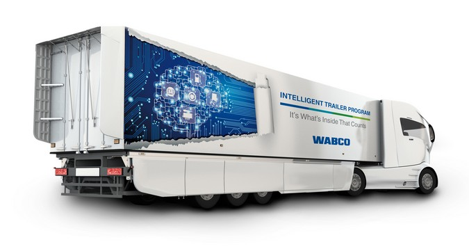 Tecnologias da WABCO estão em diversos semirreboques expostos na Fenatran 2019
