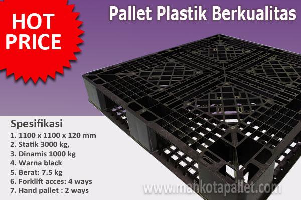 Jual Pallet Plastik Baru Ukuran 1100x1100x120 mm