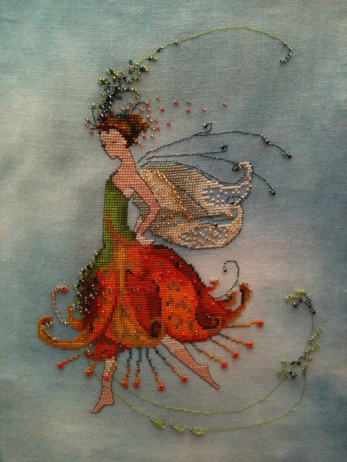 Stitching Under The Sea Nora Corbett S Pixie Couture Fairies