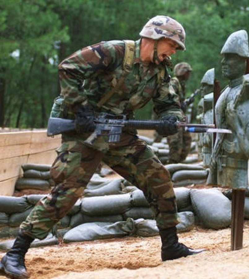 My Daily Kona The Famous Bayonet Charge During The Korean