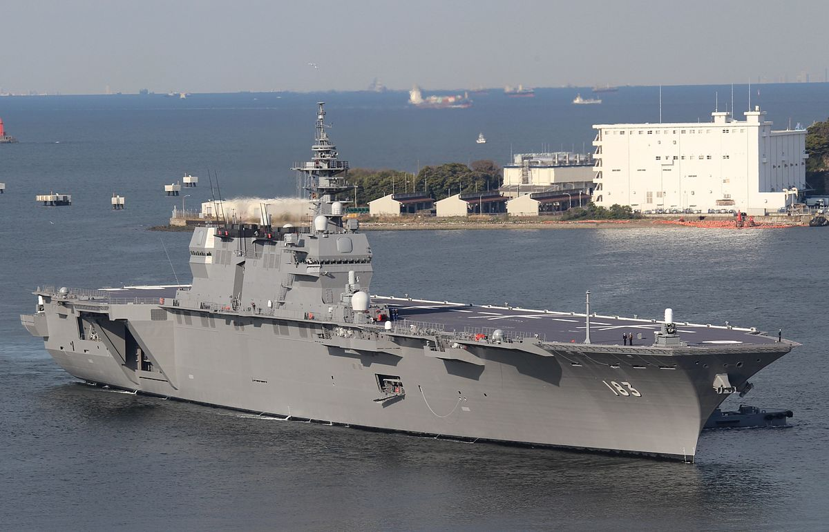 Pacific Sentinel News Story Japan Commissions Aircraft Carrier Taro Navy Like Destroyer With Same Name As Notorious Wwii Warship