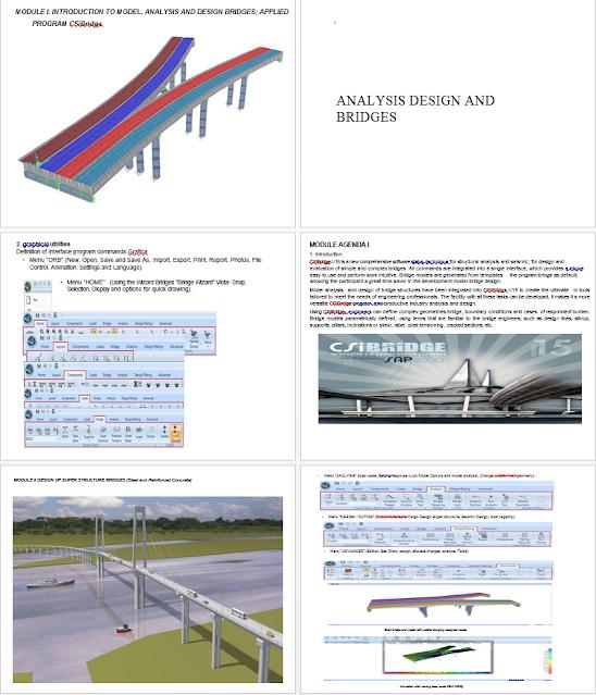 Example of Analysis and Design of Bridge using CSIBridge