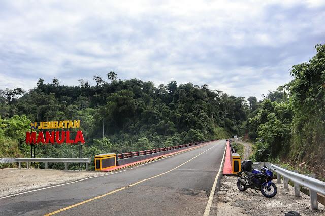 Jembatan Manula Perbatasan Bengkulu - Lampung