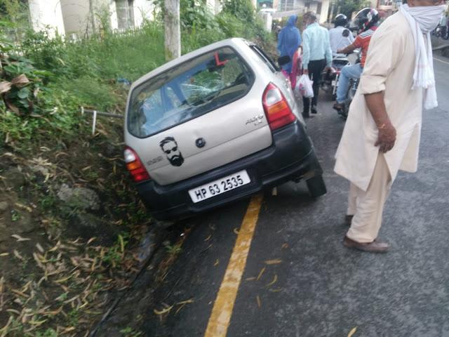 भोटा चौक पर कल भीषण हादसा कार के द्वारा मारी गई एक बुज़ुर्ग को टक्कर।