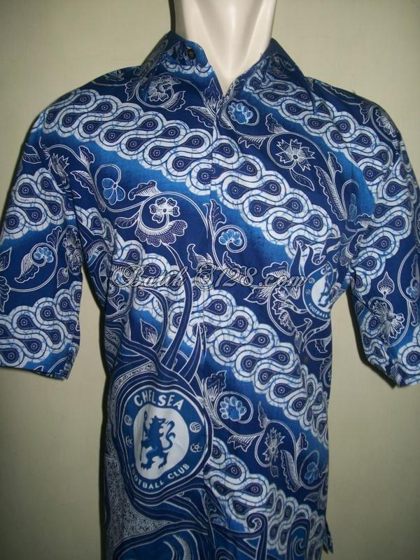 Baju Kemeja Batik Bola Chelsea Motif Terbaru Merk Pria Tampan (BB010) 49bc0f2b4c