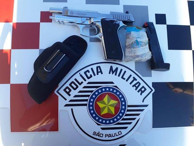 Polícia Militar prende idoso suspeito de matar homem a tiros
