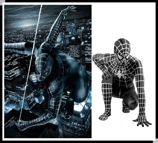 The Amazing Spider-Man: Spiderman Black Suits VS Venom Suit