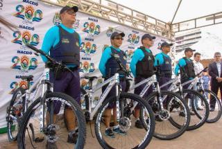 Prefeitura entrega nova base da Guarda Municipal de Maceió (AL) e equipamentos