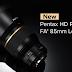 Pentax Announces HD PENTAX-D FA* 85mm f/1.4 ED SDM AW Lens