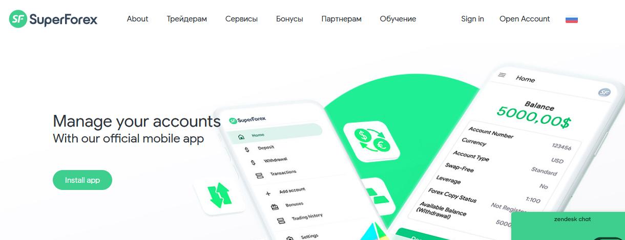Мошеннический сайт superforex.com/ru – Отзывы, развод. Компания SuperForex мошенники