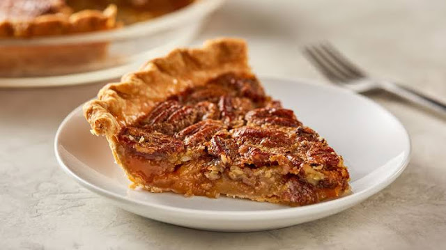 Sweet taste pecan pie