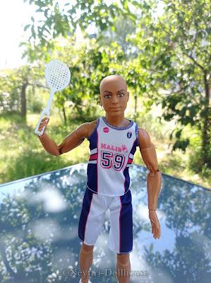 Mattel Barbie doll Puma Sport BMR ken AA Made To Move MtM body