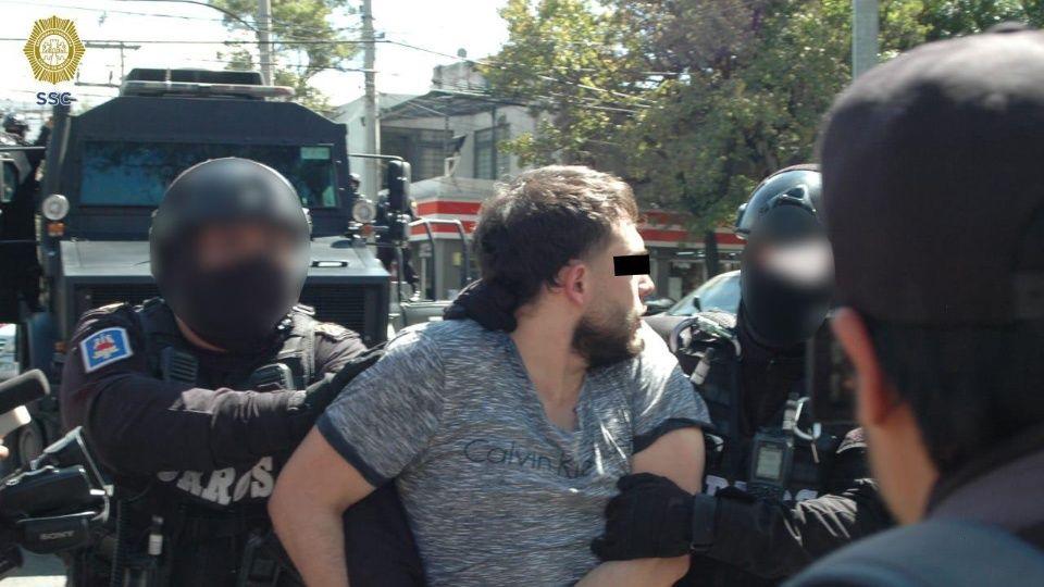 Cae El Colocho, presunto líder de una célula de La Unión de Tepito es uno de los más violentos de la organización