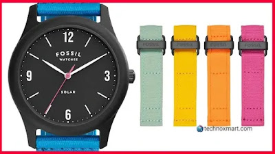 Fossil Solar Watch Is Launched In India, Currently On Sale