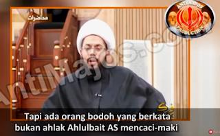 Video : Syiah tidak hanya melaknat para sahabat RA tapi …