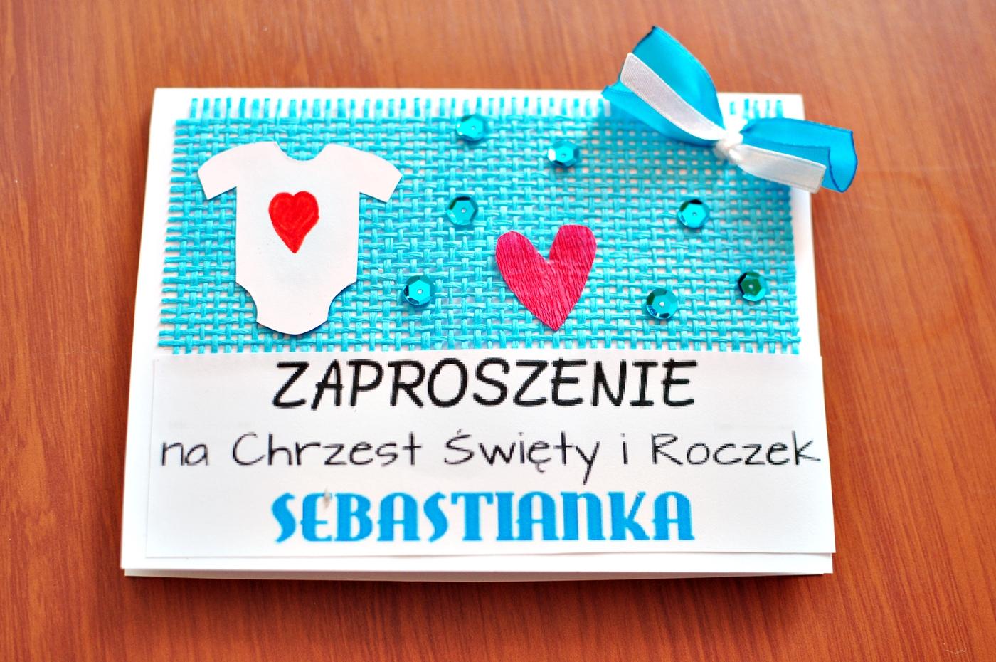 Zaproszenia Na Roczek I Chrzest Dziecka Diy Polskieszafiarkipl I