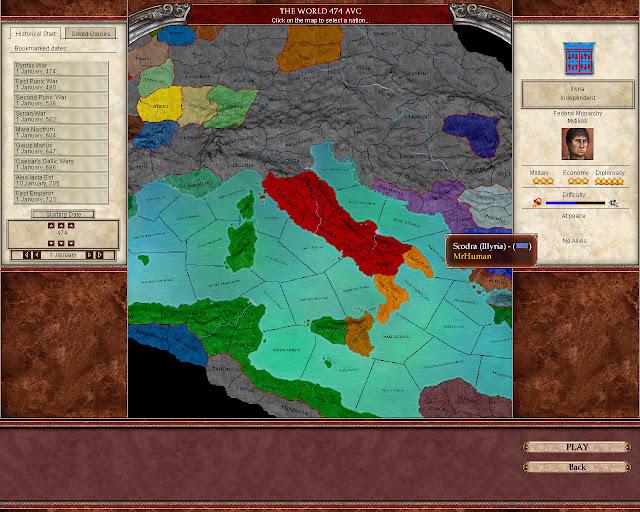 Scenario Screen | Europa Universalis: Rome