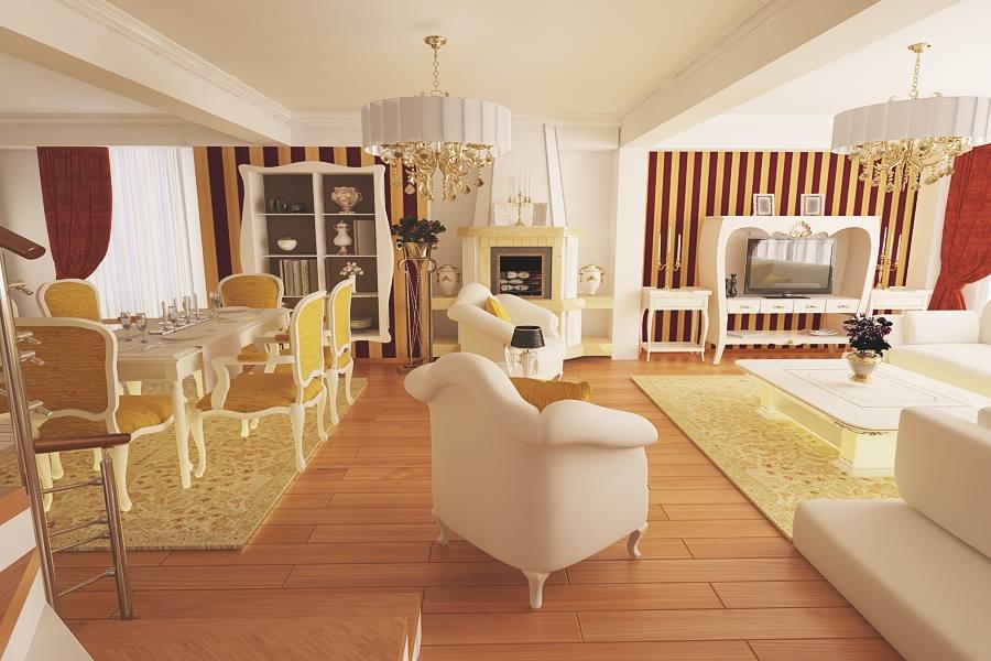 Design interior living casa moderna Constanta - Amenajari Interioare / Arhitect Constanta
