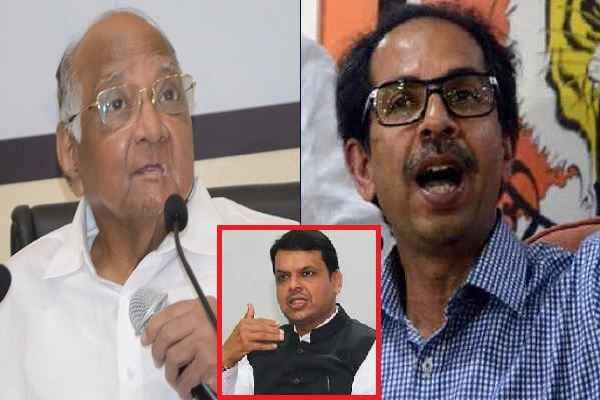 शिवसेना गिरा दे महाराष्ट्र में बीजेपी सरकार, लिखकर देता हूँ, नहीं दूंगा BJP को समर्थन: शरद पवार