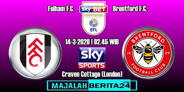 Prediksi Fulham vs Brentford