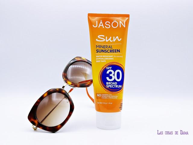 Protección Solar Mineral JĀSÖN Sun cosmética natural beauty solar sunprotect summer verano playa sol