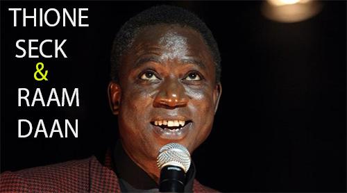 Thione Ballago Seck lead vocal du groupe sénégalais Raam Daan, l'homme aux textes sages: Musique, artiste, chanteur, rappeur, danse, mbalax, Thione Seck, Wally Seck, Raam Daan, groupe Xalam loisir, Dakar, Sénégal, Afrique