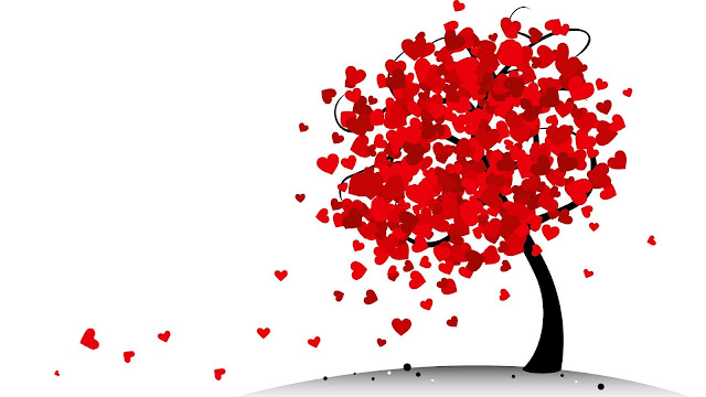 Love Heart Tree HD Wallpapers Free Download