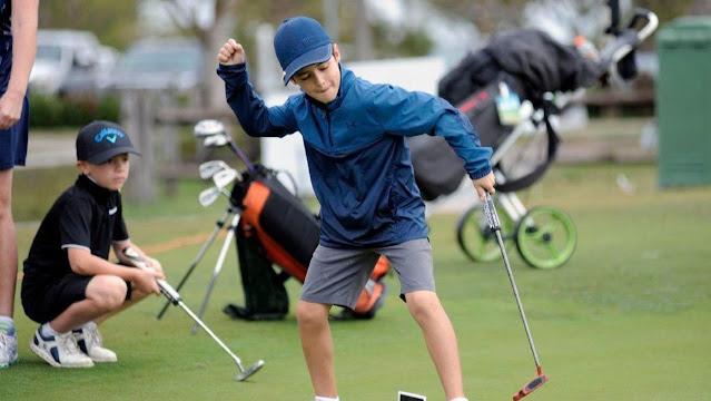 Golfista Bento Assis se diverte em treinos nos Estados Unidos