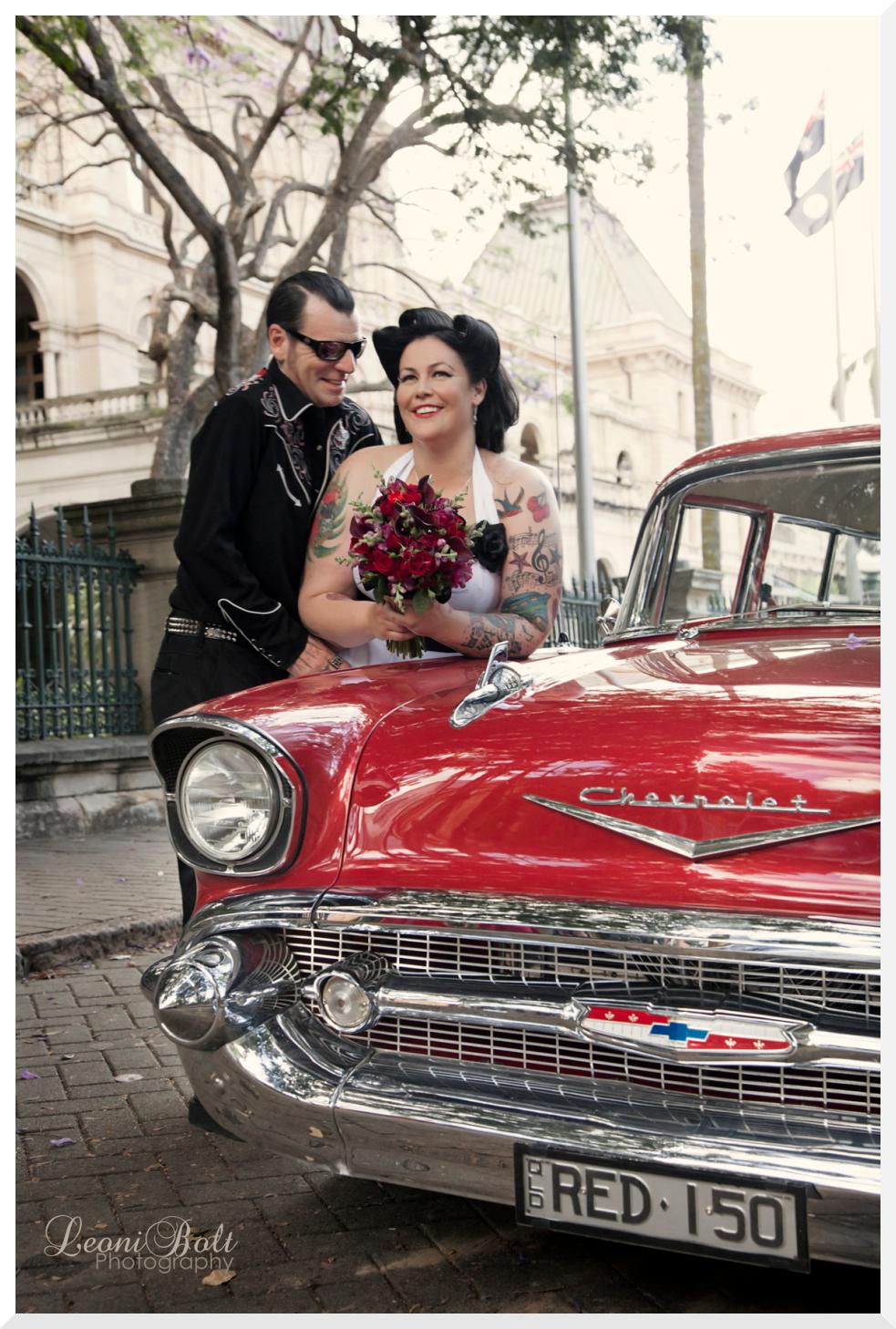 CaraibiRockers Rockabilly Wedding