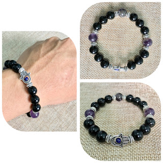 Hex Breaker Crystal Bracelet