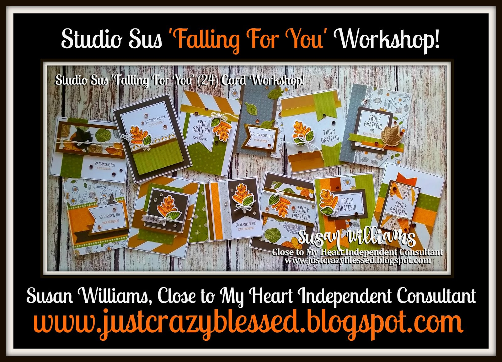 'Falling For You' Cardmaking Workshop!