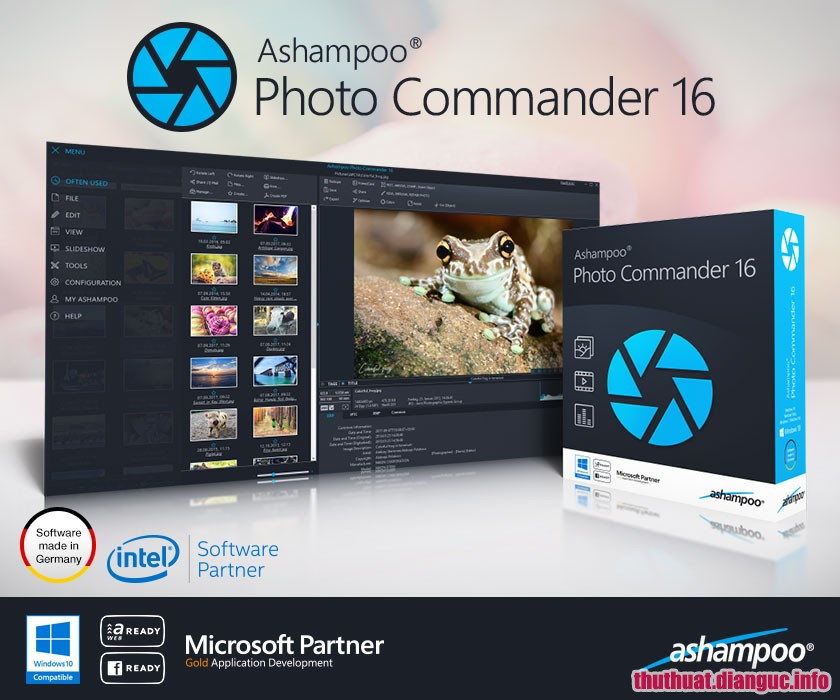 Download Ashampoo Photo Commander 16.0.6 Full Cr@ck