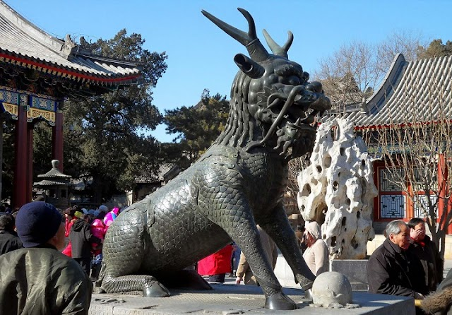 Qilin: the unicorn whose appearance coincides with the birth or death of a sage or illustrious ruler