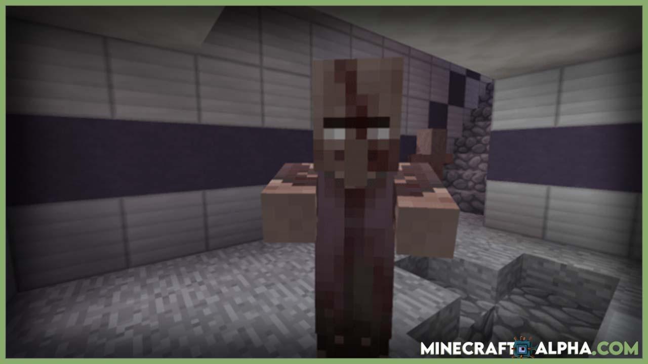 Minecraft Tissou's Zombie Resource Pack 1.17