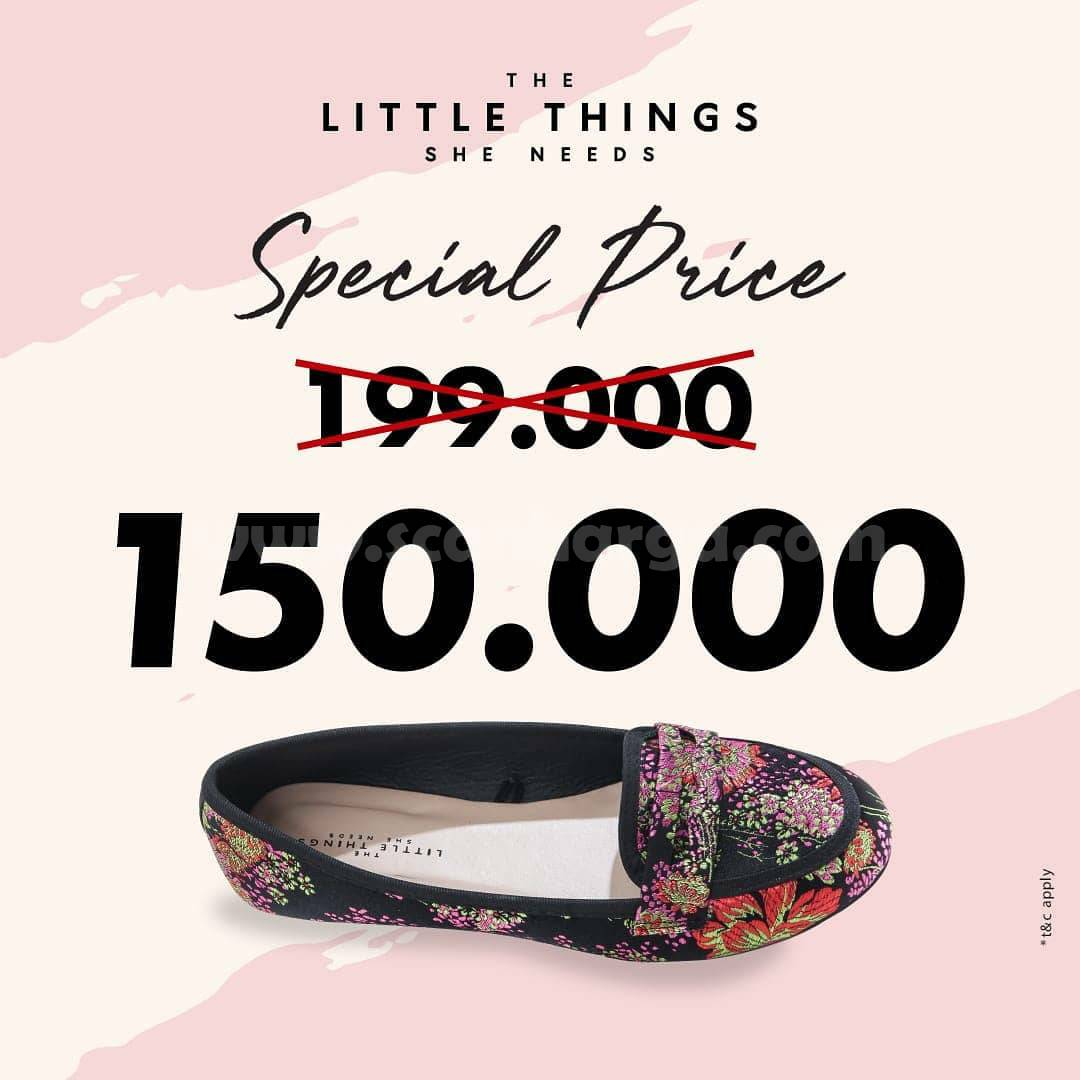 Promo The Little Things She Needs Special Price Sepatu Flat only 150K
