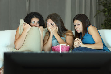 Horror movie affects health