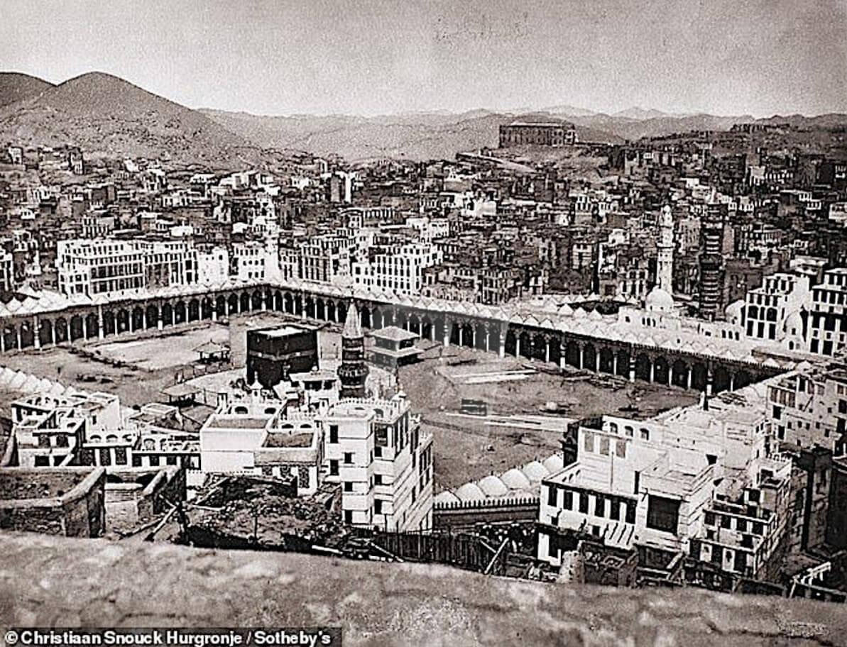 Gambar Pengintip Kota Mekah