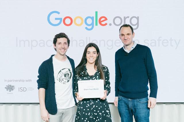 ONG portuguesa é uma das premiadas pela Google.org em desafio internacional
