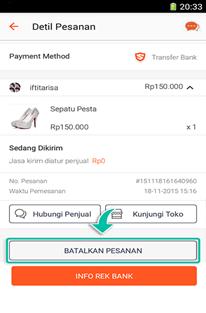Cara Membatalkan Pesanan di Shopee Yang Sudah & Belum Dibayar