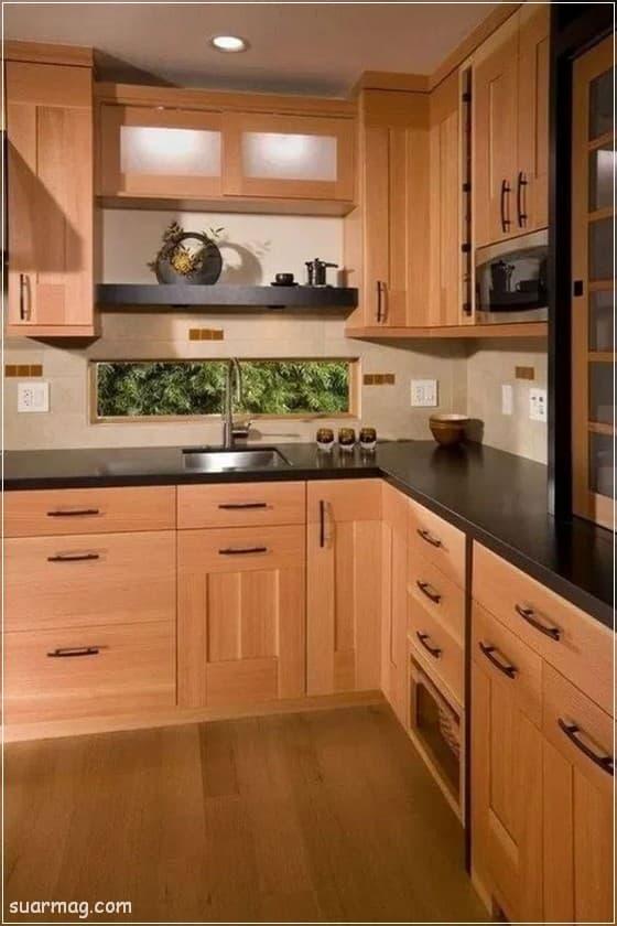 صور مطابخ - مطابخ خشب 9   Kitchen photos - Wood kitchens 9