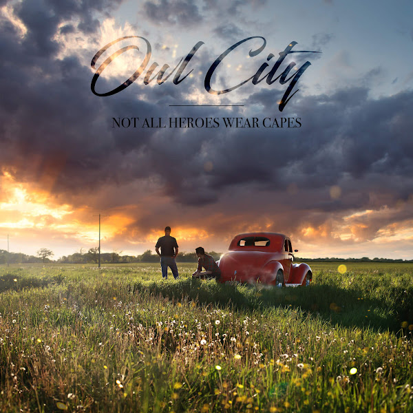 Owl City - Not All Heroes Wear Capes - Single Cover