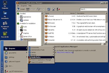 Download ReactOS Versi Terbaru Gratis