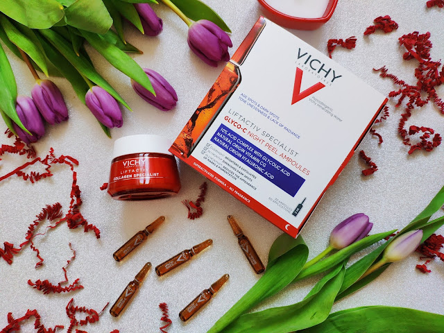 VICHY Lift Active Specialist Glyco-C Night Peel Ampoules i Vichy Liftactive Collagen Specialist