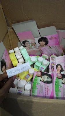 Ready Stock Paket lulur susu domba asli thailand Terbaru