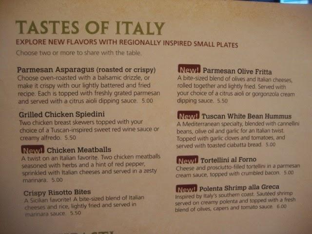 Pizza Olive Garden Menu: ERICJAZ FOODIES: OLIVE GARDEN