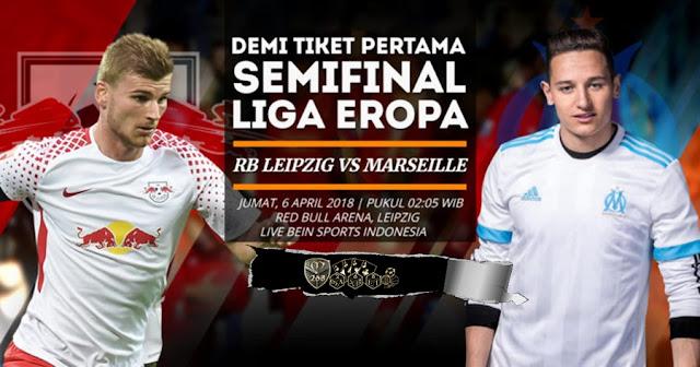 Prediksi RB Leipzig Vs Marseille, Jumat 06 April 2018 Pukul 02.05 WIB
