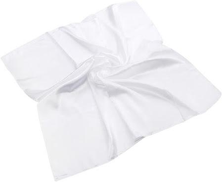 Good Quality White Satin Scarves