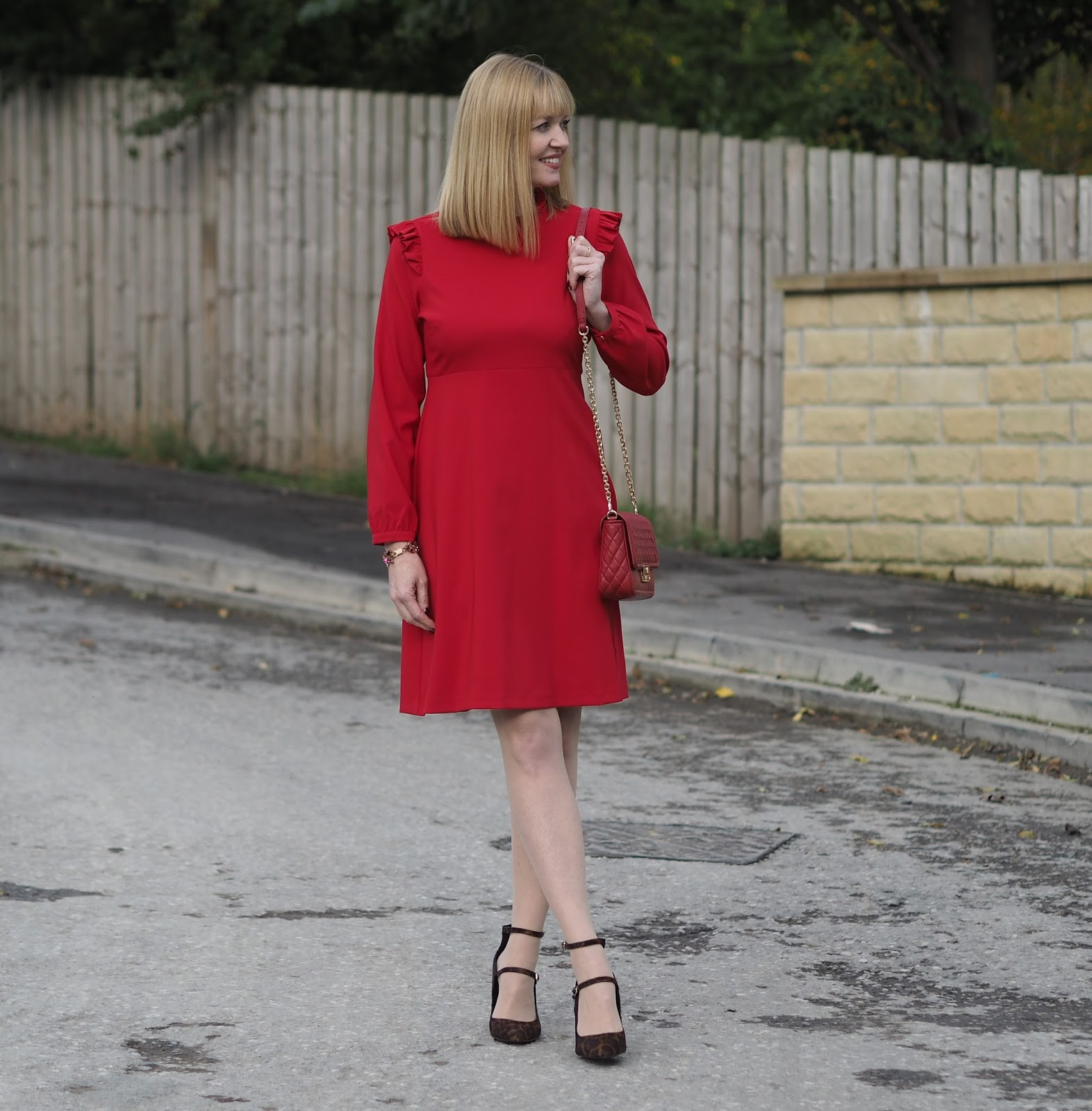 A Little Red Dress and A Statement Bracelet, over 40